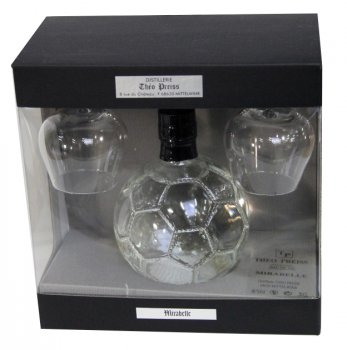 Coffret Ballon Foot 50 cl - 40°