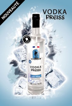 VODKA PREISS 37,5°